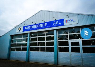 Autobedrijf Aal - Gevelreclame