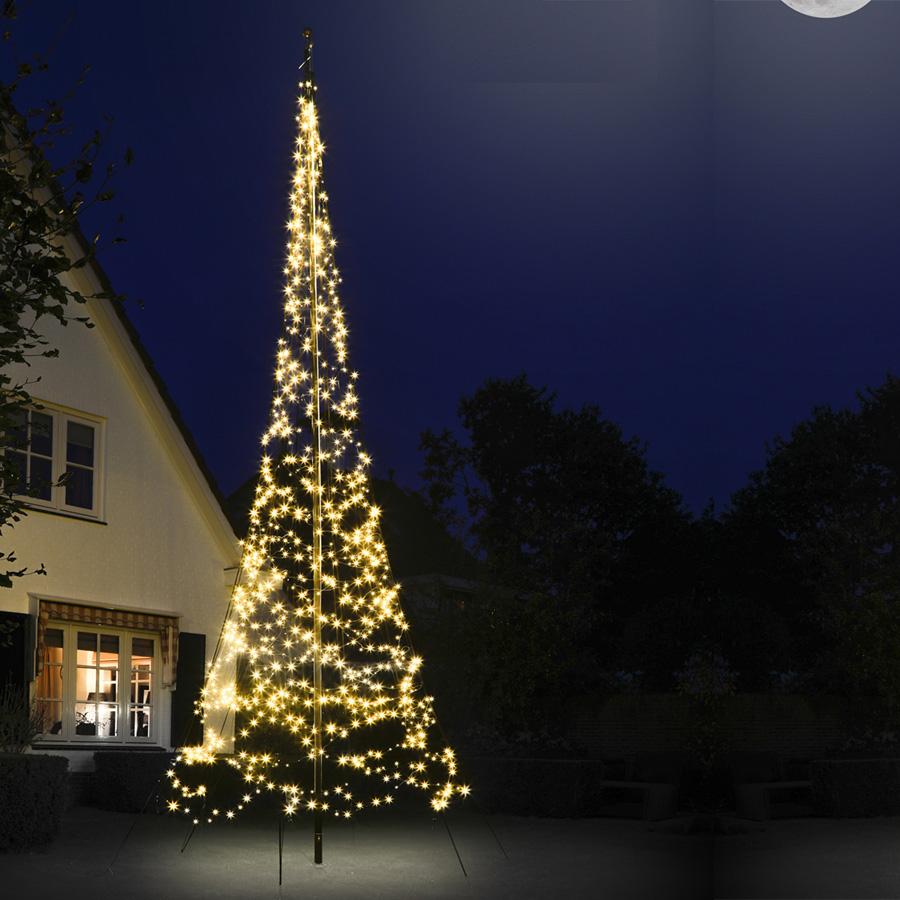 Signaal Reclame levert Fairybell Vlaggenmast kerstboom